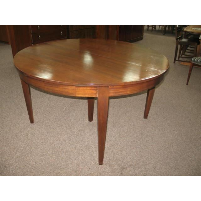 Antique Extending Mahogany Dining Table - Image 10 of 11