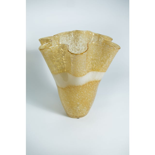 Hand-Blown Handkerchief Vase - Image 2 of 3