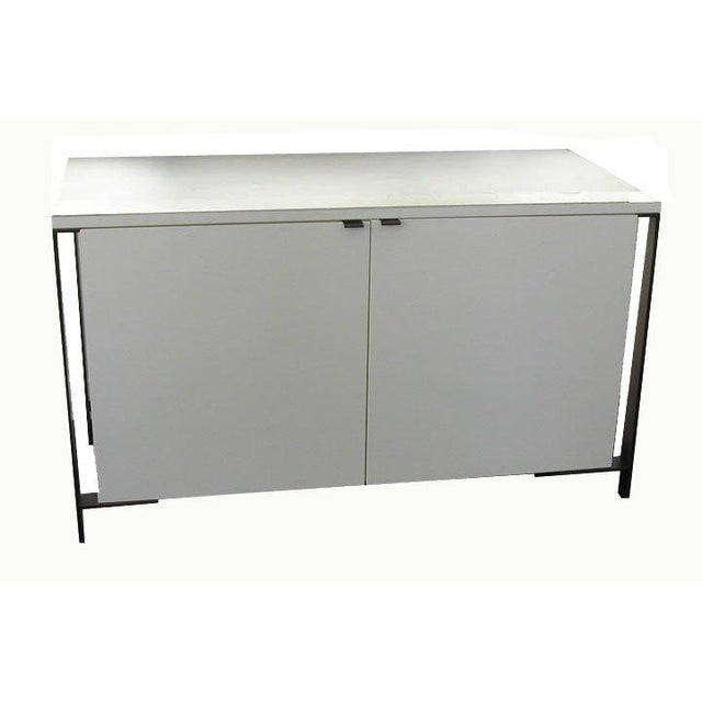 Fabry Bronze Frame Media Cabinet - Image 4 of 8