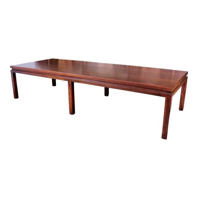 Harvey Probber Mahogany Coffee Table - Image 1 of 8