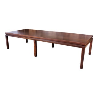 Harvey Probber Mahogany Coffee Table