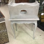 Image of 1850's French Limed Oak Side Table