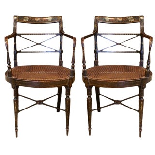 Regency Period Armchairs - A Pair