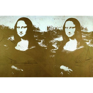 Andy Warhol-Two Golden Mona Lisas (sm)-1999 Poster