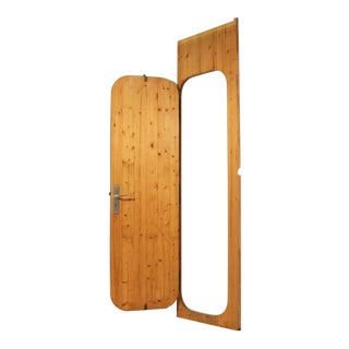 Charlotte Perriand Pine Door from Les Arcs Ski Resort, France, 1960s