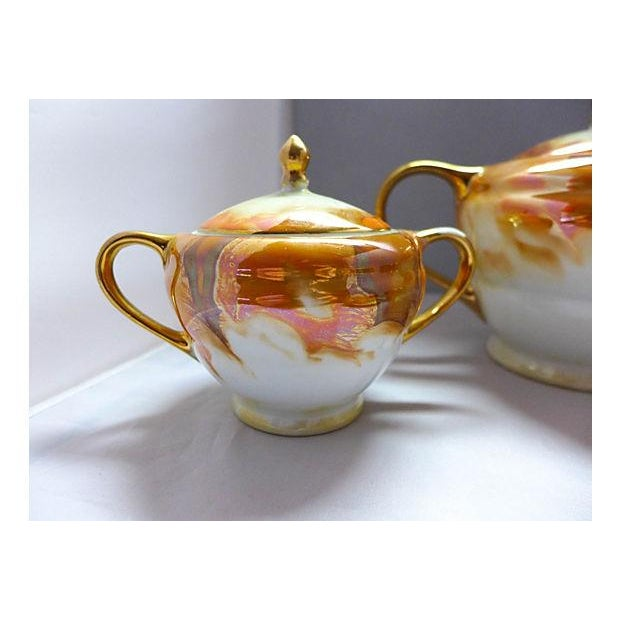 Lusterware Tea for Two Set - Image 4 of 8