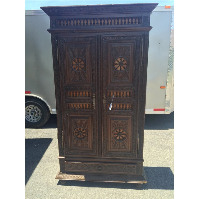 Image of Late 1800s French Brittany Style Cabinet