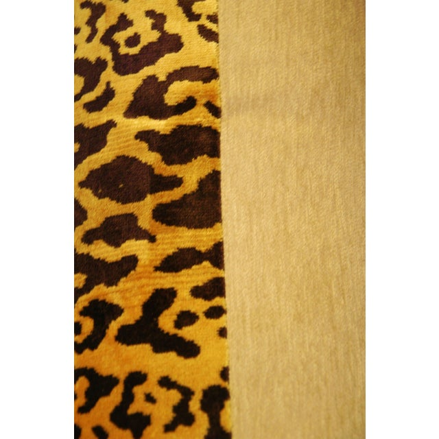 Scalamandre Cut-Velvet Leopardo Pillow - Image 7 of 8