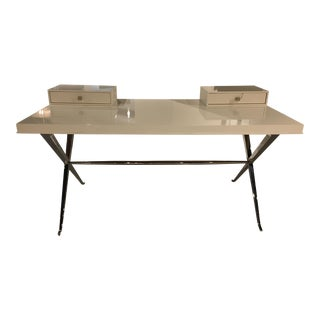 Century Furniture Omni Desk With Metal Base