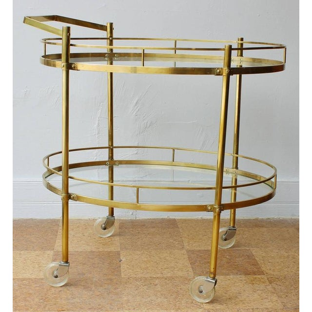 Maxwell Phillips Solid Brass Server - Image 2 of 4