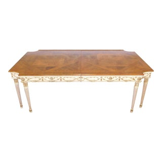 Ej Victor Newport Mansions Regency Dining Room Table