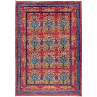 "Suzani, Hand Knotted Area Rug - 10'2"" X 14'1"""