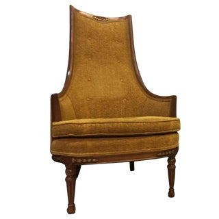 French Louis XVI Style Regency Chair