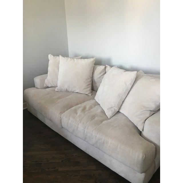 Z Gallerie Stella Cream Sofa Chairish