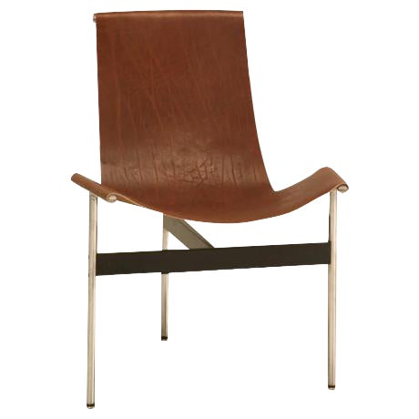"Original Vintage ""T"" Chair by Katavolos, Kelly & Littell for Laverne International - Image 1 of 11"