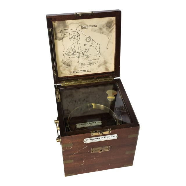 Vintage Marine Hamilton Chronometer Case - Image 1 of 9
