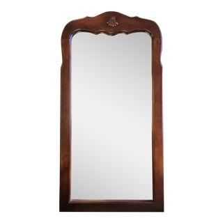 Hooker Maple Shell Ornament Mirror