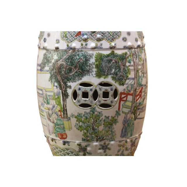 Chinese Porcelain Garden Stool with Scenery - Image 9 of 10