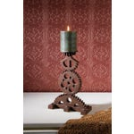 Image of Steampunk Industrial Chic Pillar Candleholder