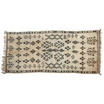 Image of Snake in the Grass Vintage Moroccan Rug - 4' X 9'5