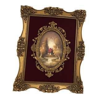 French Baroque Style Oil Painting