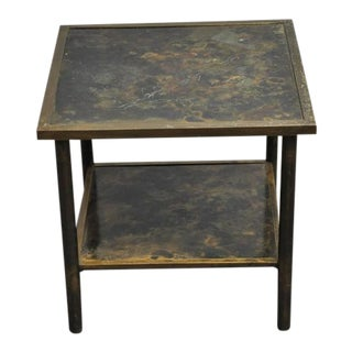 Philip and Kelvin LaVerne Bronze Side Table