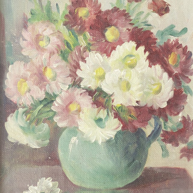 Floral Oil Painting by Frances Brand - Image 3 of 4