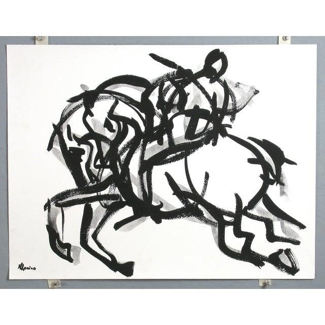 Polo Rider I Painting by Heidi Lanino - Image 2 of 3