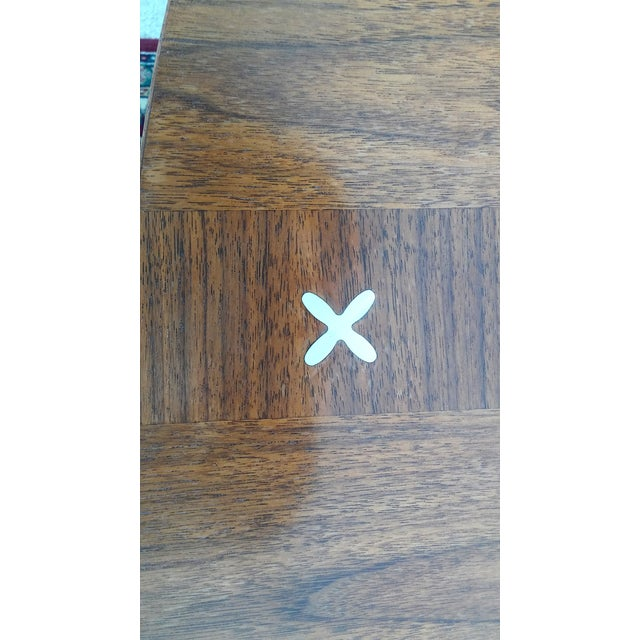 Refinished Vintage Mid Century Modern Dining Table - Image 4 of 7