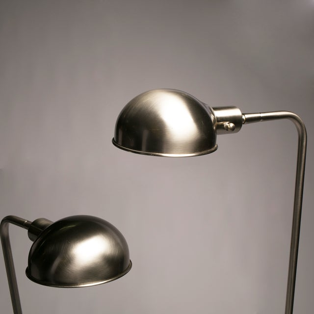 Pharmacy Floor Lamps - A Pair - Image 3 of 5