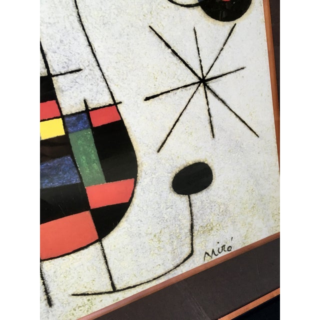 Large Miro Framed Print - Image 5 of 6