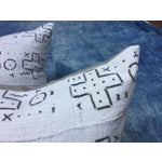Image of African Tribal Mud Cloth Pillows - A Pair