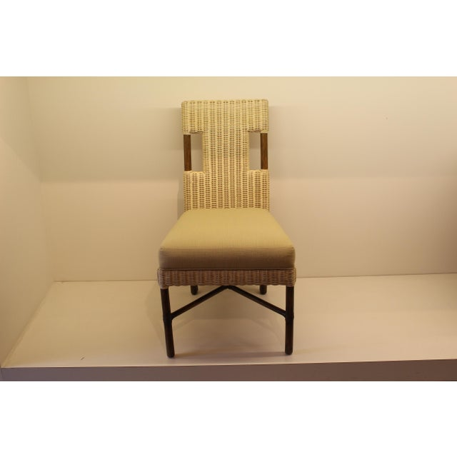 Image of McGuire Thomas Pheasant Woven Core Dining Side Chair