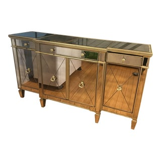 Antique Borghese Mirrored Sideboard