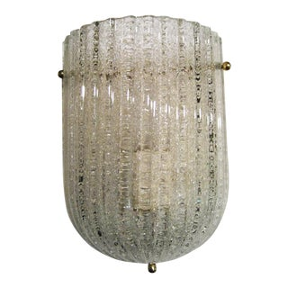 Barovier & Toso Glass Sconce