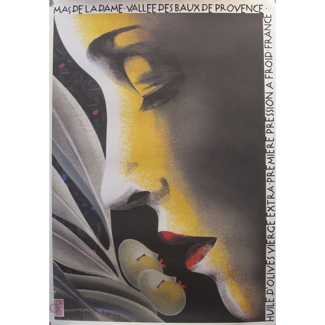 Contemporary Philippe Sommer Olive Oil Poster - Image 1 of 3