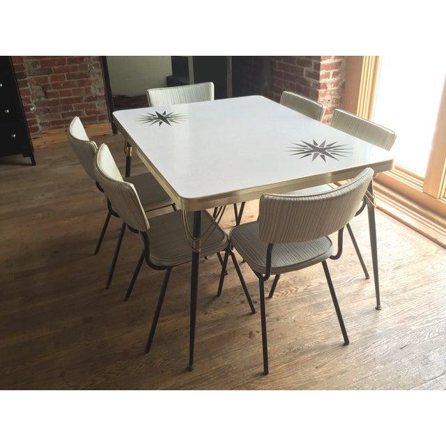 Dining Tables Set For Sale: 1960s Vintage Formica Dining Set