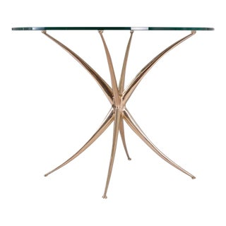 """Vitruvian"" Bronze Center Table by Nick King"