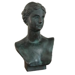 Neoclassical Bronze Bust