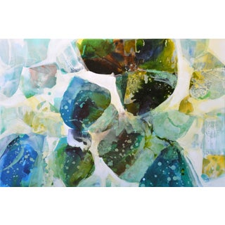 """""""Beach Stones"""" Mixed Media Painting"""