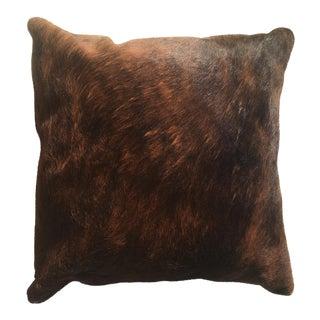Vintage Rustic Cowhide Pillow