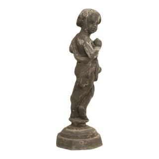 English Lead Garden Statue