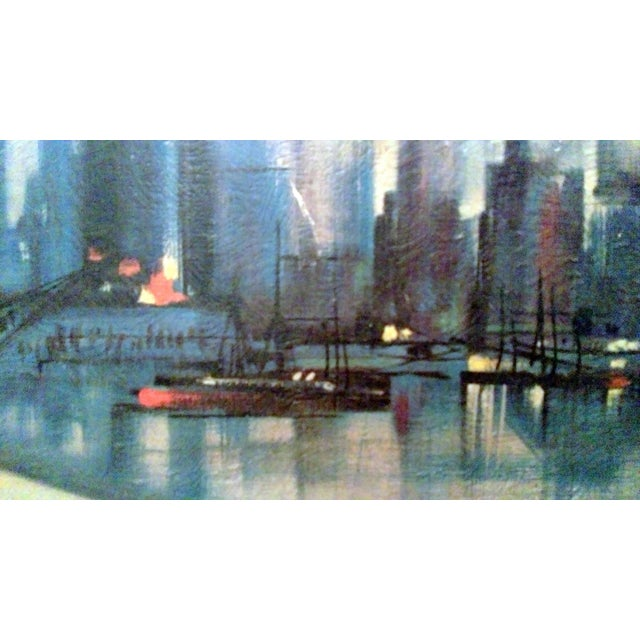 Ozz Franca Mid-Century Cityscape Lithograph - Image 4 of 10