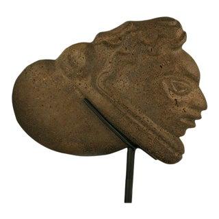 Basalt Stone Head