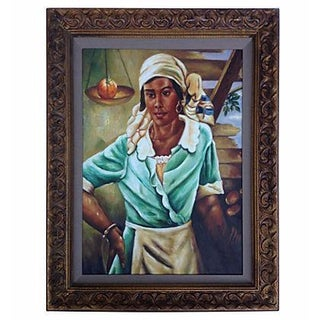 Creole Portrait Painting