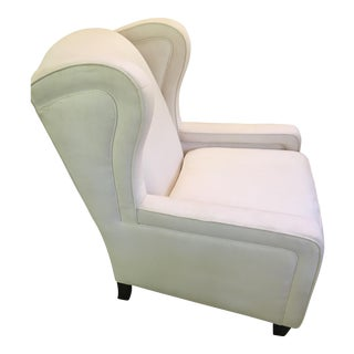 Upholstered Linen Club Chair
