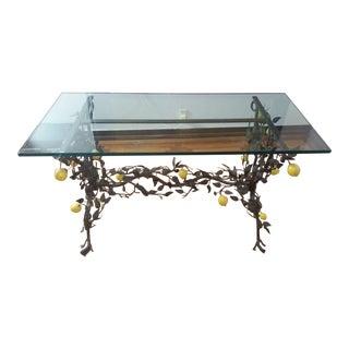 Vintage 1950s Iron Table
