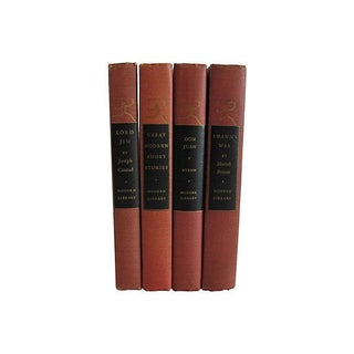 Red Modern Library Classics - Set of 4