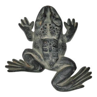 Cast Iron Frog Door Stop