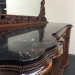 Image of Traditional Revival Rococo Dresser & Mirror